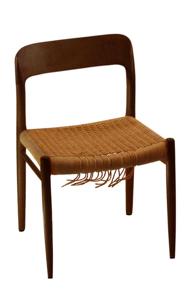 Daenische Papierschnur Geflecht Stuhl Reparatur